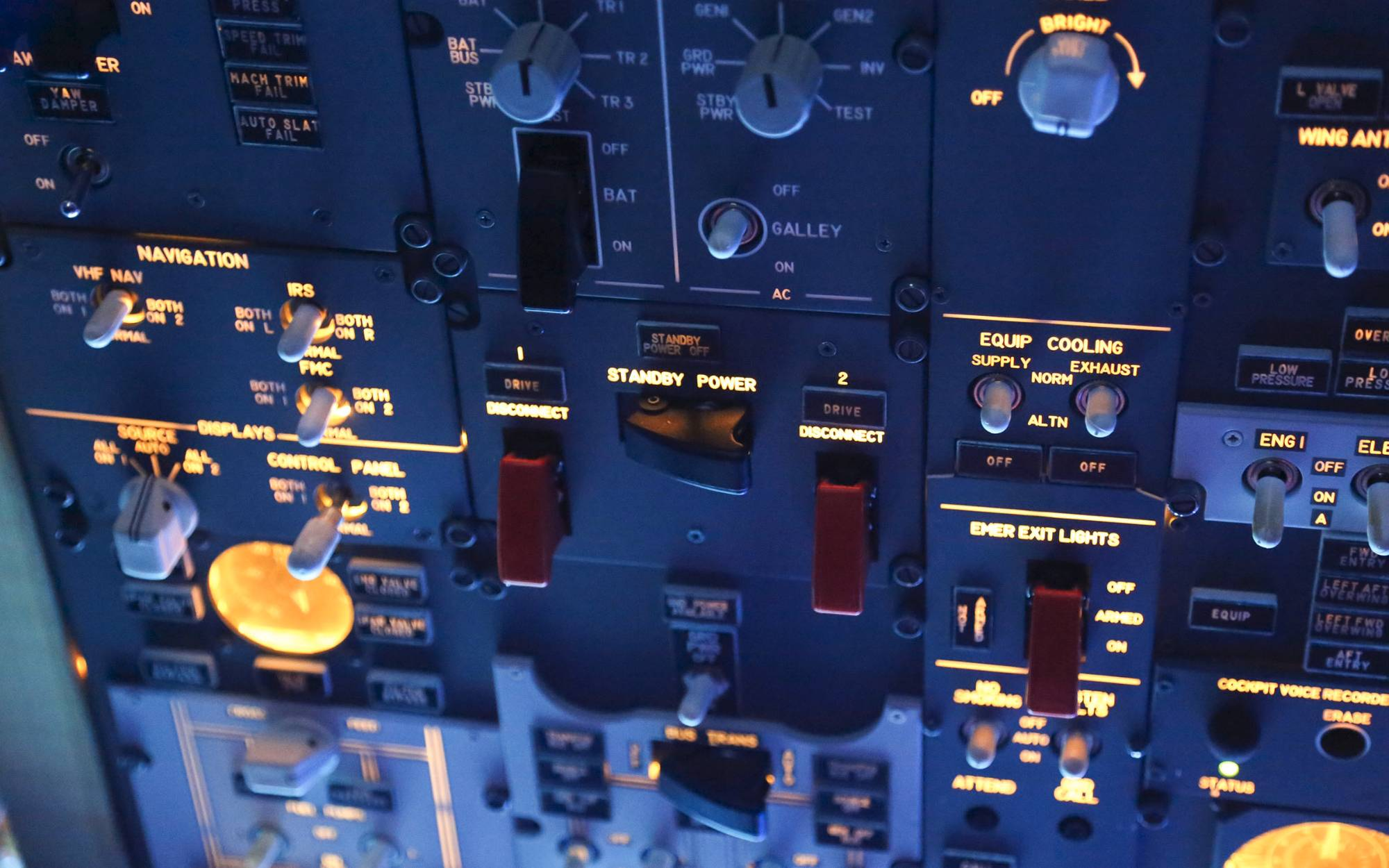 Flight Simulator For Sale - Boeing 737 cockpit